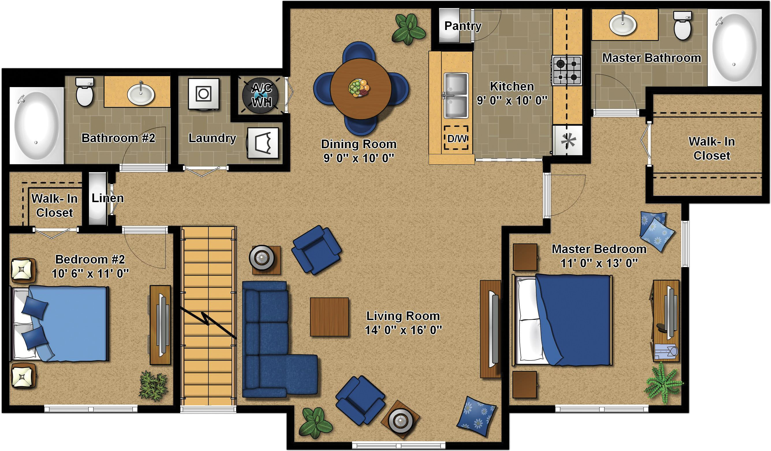 Evergreen Floor Plan 4