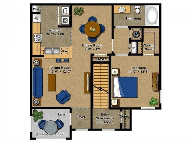 Jasmine Floor Plan 1