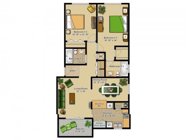 The Haven Floor Plan 1