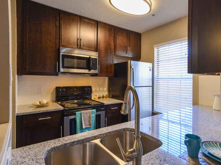 Double Stainless Steel Sink at The Lakes at Windward, Alpharetta, 30004