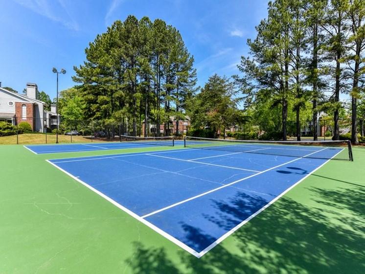 Tennis Court at The Lakes at Windward, Alpharetta, GA