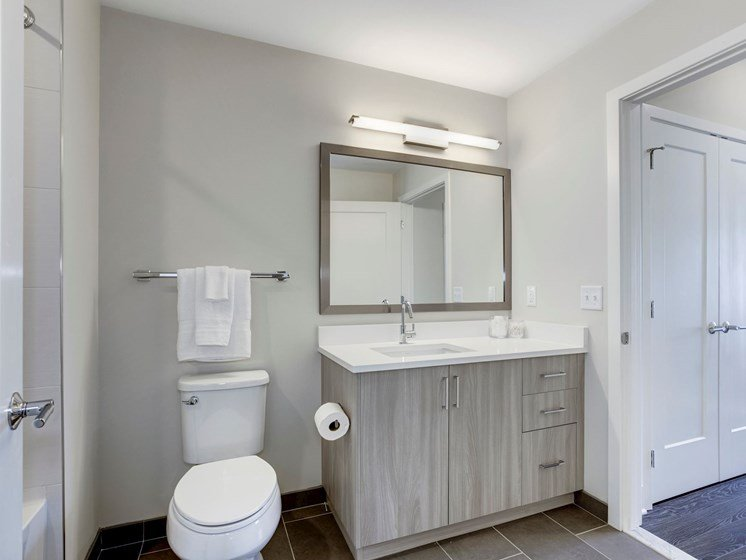 Bathroom- One Bedroom A05a