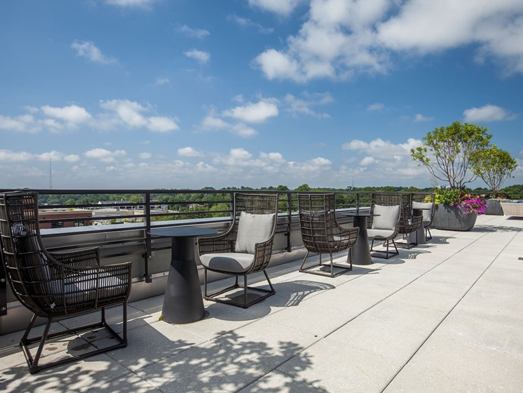 This Terrace Just Keeps Going- Wraparound Rooftop Terrace