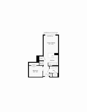 A01 One Bedroom One Bath