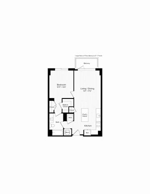A05a One Bedroom One Bath