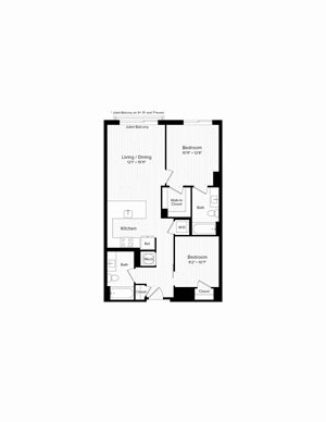B03 One Bedroom and Den