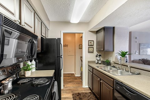 Landmark at Spring Creek Fully Equipped Kitchen