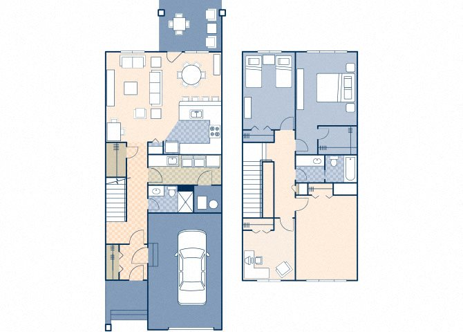 Atlas Village 1423 Floor Plan 1