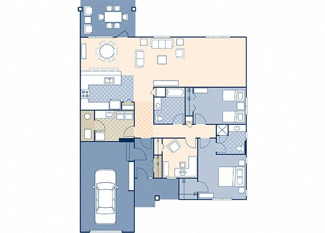 Atlas Village 1507 Floor Plan 2