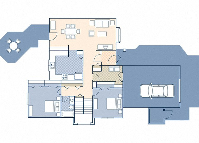 Minuteman Village 1235 Floor Plan 15