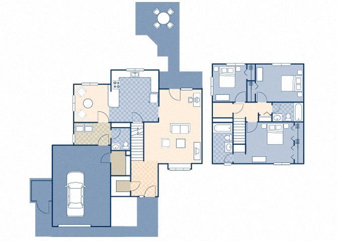 Minuteman Village FEU 1670 Floor Plan 41