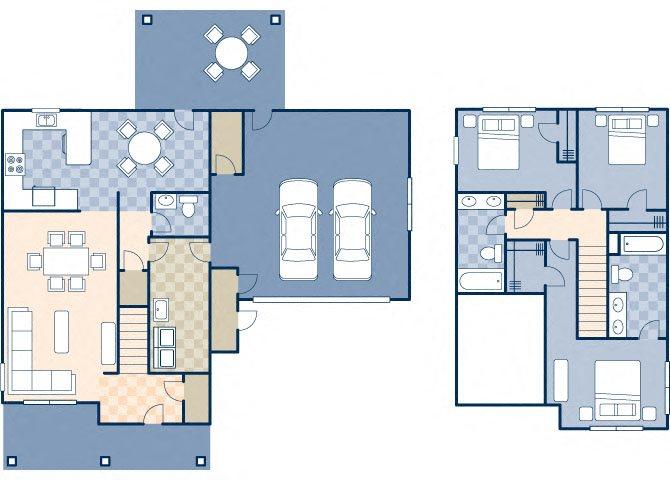 Bear Lake 1433 Floor Plan 2