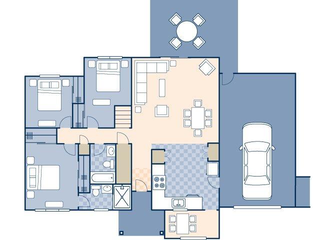 Lakeside II 917 Floor Plan 27