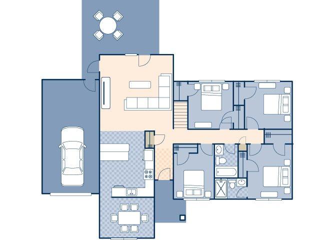 Lakeside II 1063 Floor Plan 28