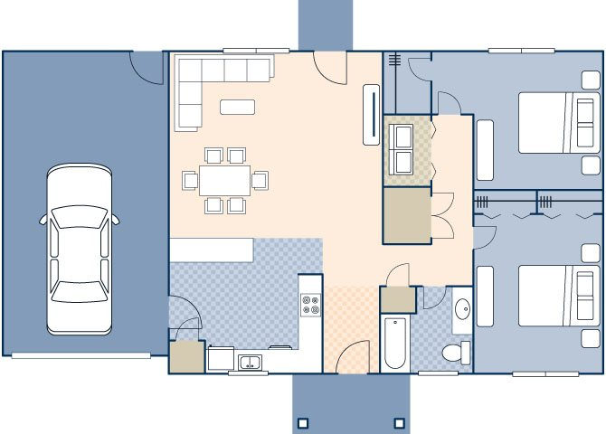 Woodview II FEU 872 Floor Plan 47