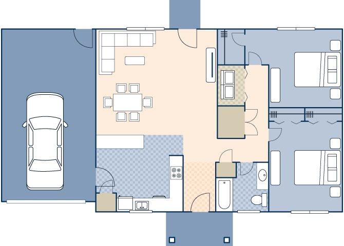 Woodview III FEU 872 Floor Plan 50