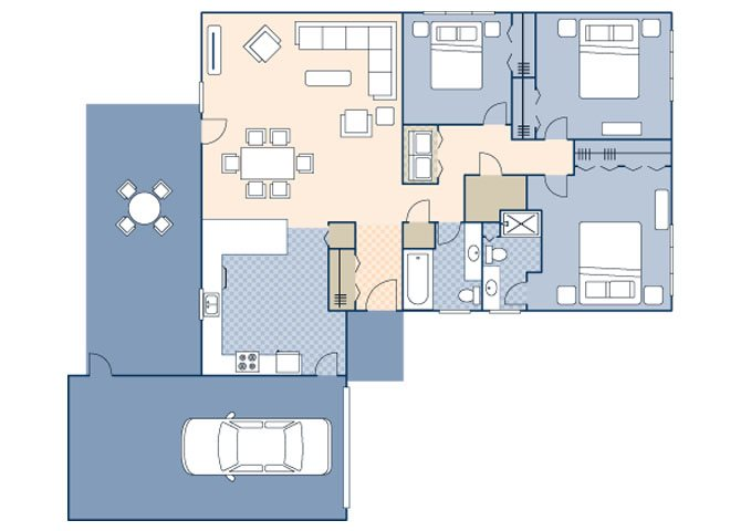 Woodview II FEU 1119 Floor Plan 49