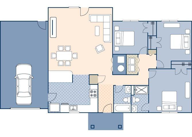 Woodview II FEU 926 Floor Plan 48