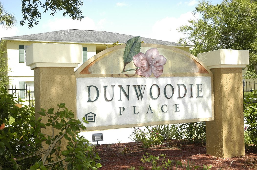 Dunwoodie Place Apartments Monument Sign Orlando, FL