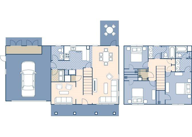 Black Hills Estates 1910 Floor Plan 2