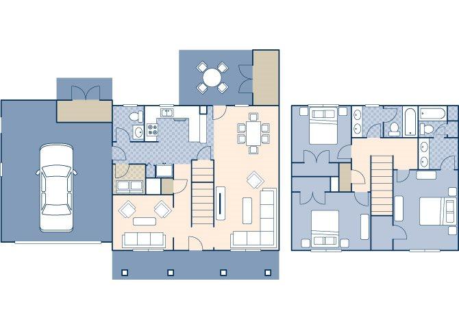 Black Hills Estates 1678 Floor Plan 1