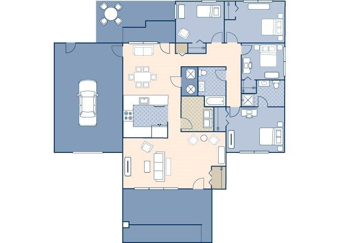 Prairie View Estates 1570 Floor Plan 14