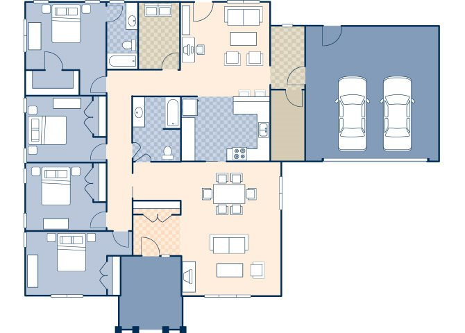 Rushmore Heights 1950 Floor Plan 20
