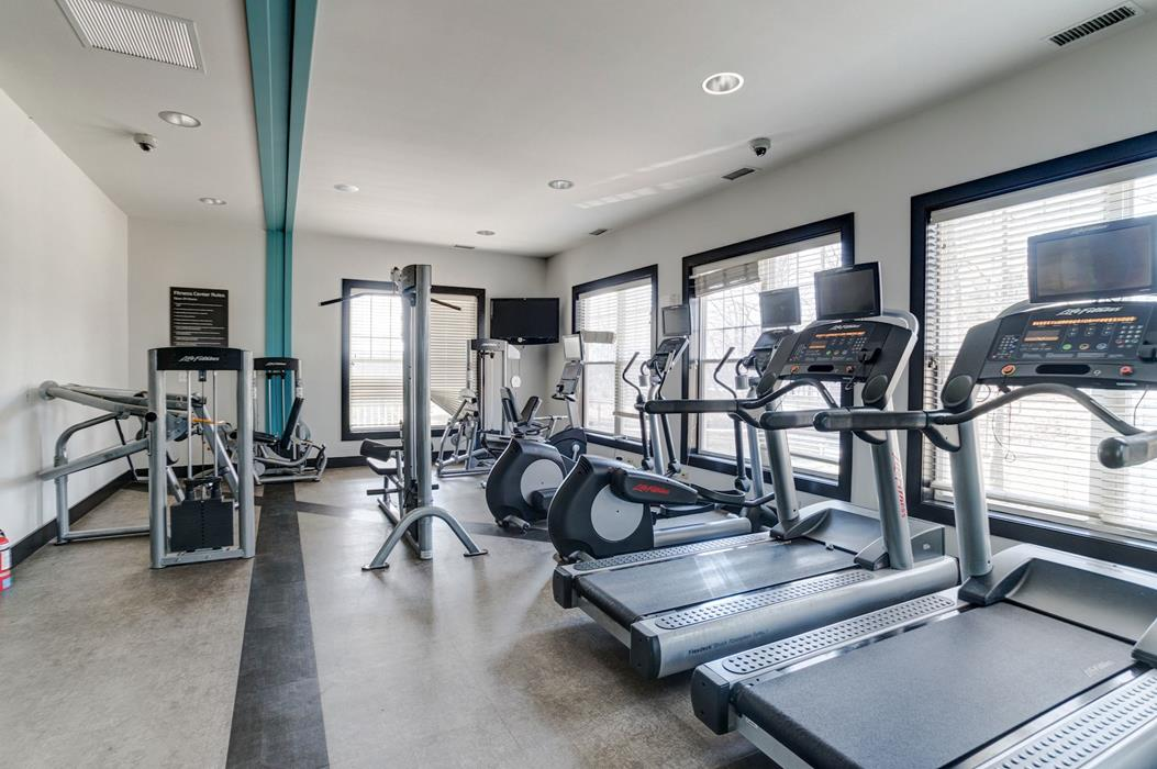 Fitness Center with Free Weight at Ellicott Grove, Ellicott City