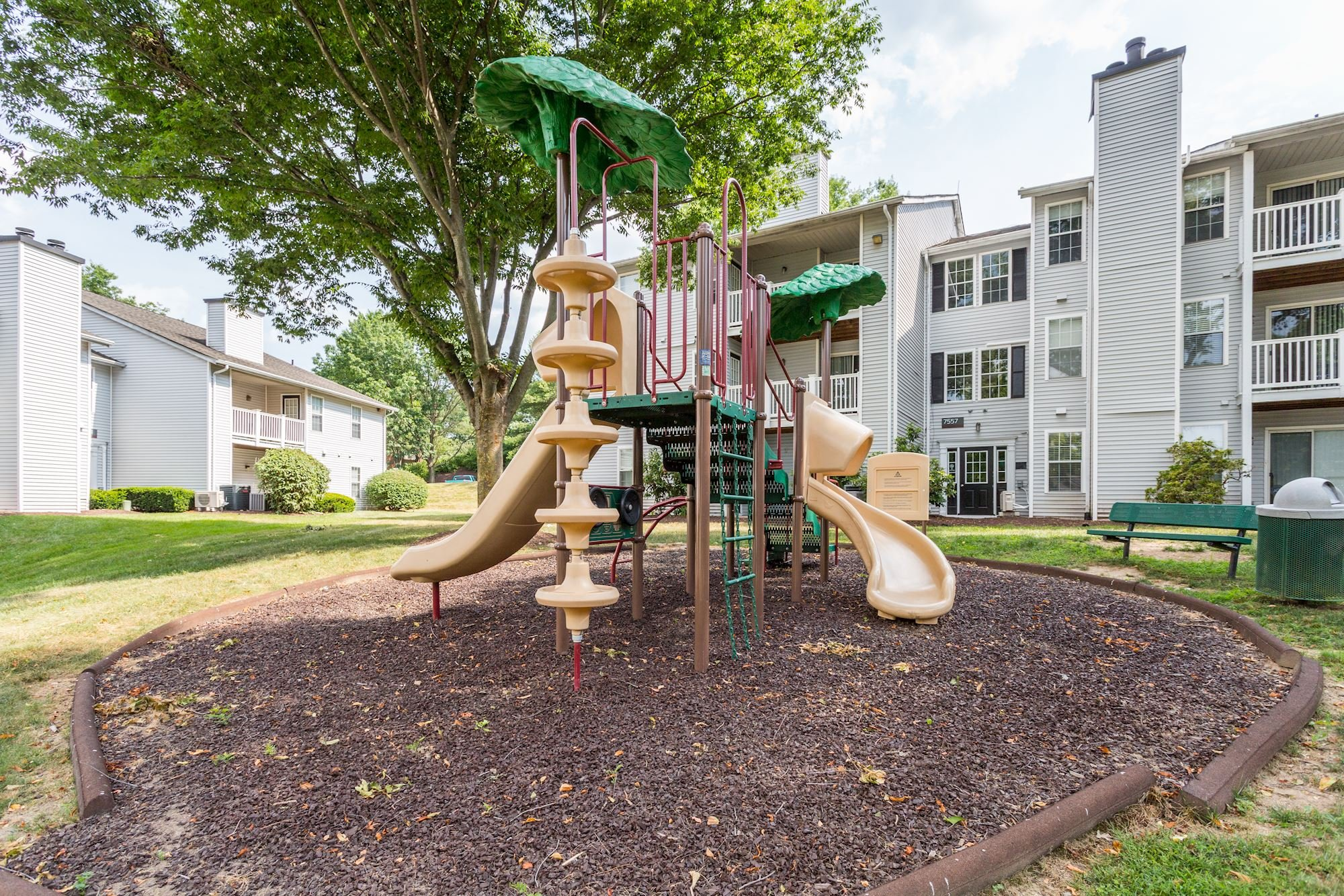 Apartments with Playground at The Hamilton at Kings Place in Columbia, MD