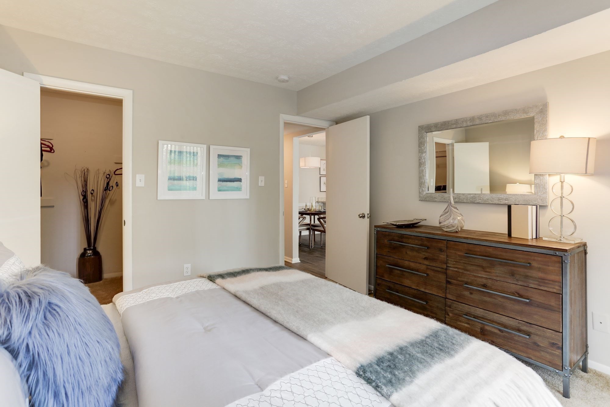Columbia Apartments in Maryland for Rent - Hamilton at Kings Place Bedroom