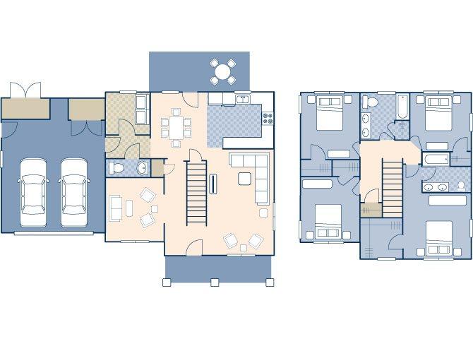 Air Commando Village 2200 Floor Plan 3