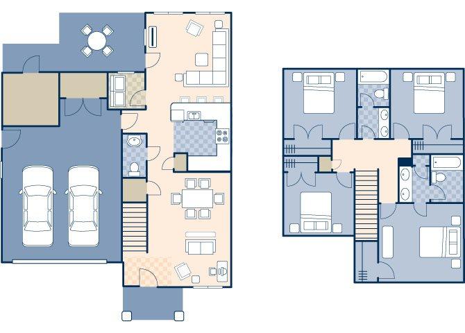 Chavez North 2000 Floor Plan 8