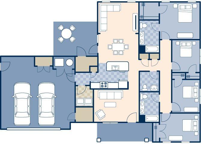 Chavez North 2000 B Floor Plan 9