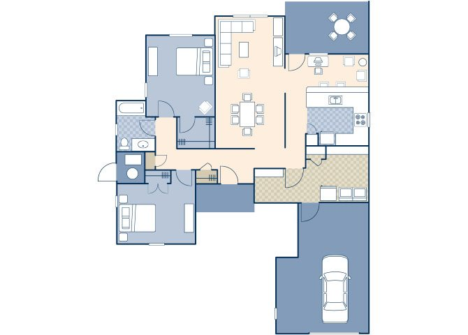 Chavez West 997 Floor Plan 13