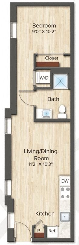 The Garland (A2) Floor Plan 2