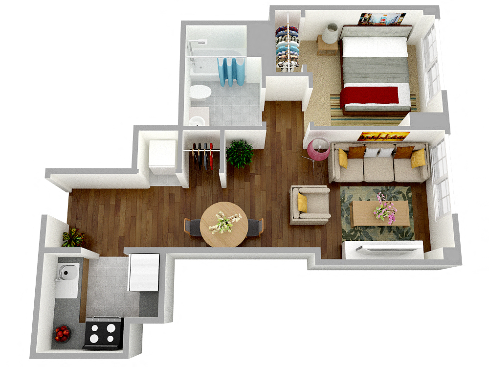 Floor Plans Of Kendall Crossing Apartments In Cambridge Ma