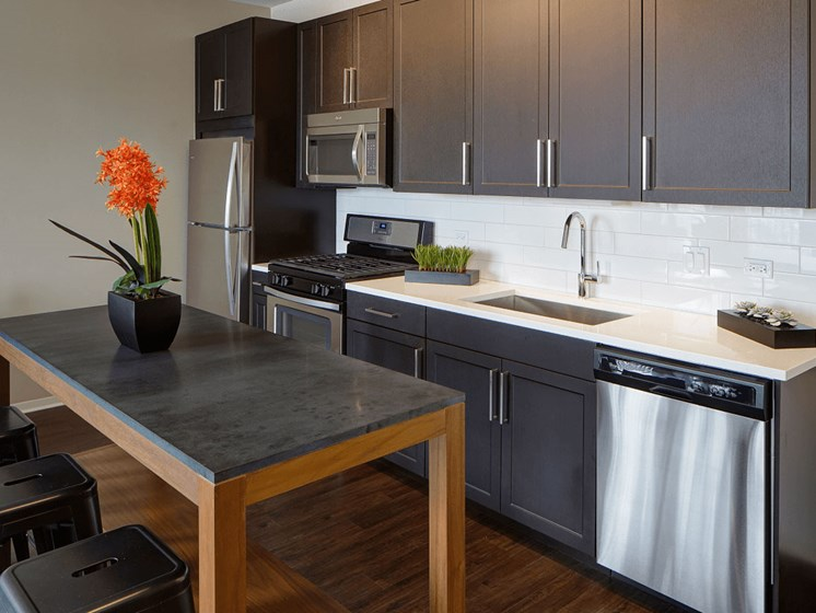 Sleek Interior Finishes at Courthouse Square Apartments, Wheaton, IL, 60187