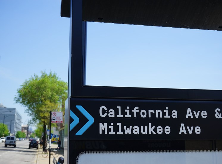 situated on the corner of North California and Milwaukee Ave