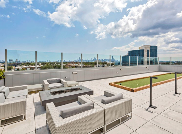 Rooftop Lounge at Noca Blu, Chicago, 60647