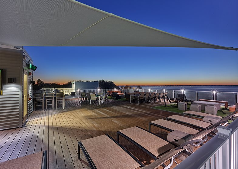 The Garrison roof deck