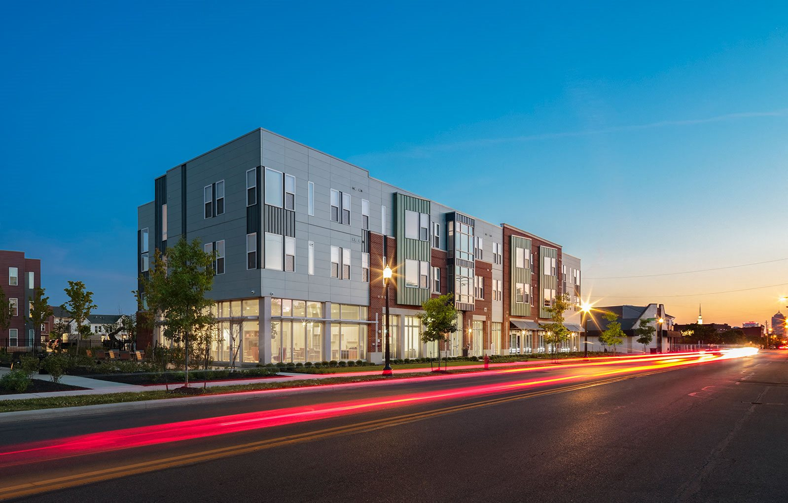Street view of Legacy Pointe at Poindexter, Columbus, OH