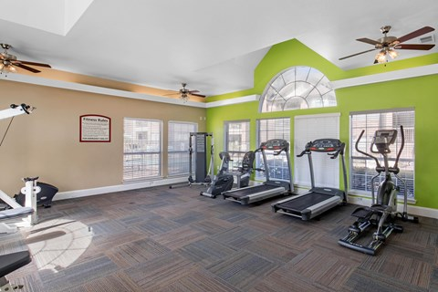 Mission Fairways Apartments Mesquite Fitness Center