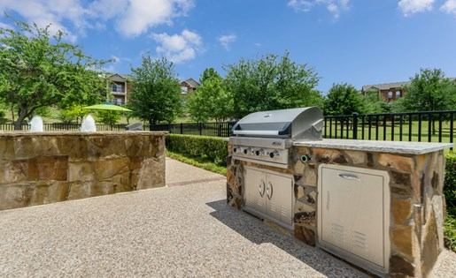 Mission Rockwall Apartments Rockwall Texas Grilling Area
