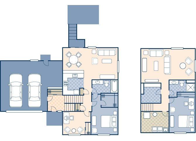 Dakota Skies 1965 Floor Plan 1