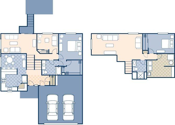 Dakota Skies 1970 Floor Plan 2