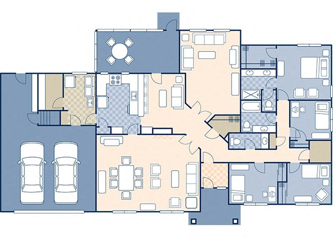 Northern Lights Estates 2828 Floor Plan 18