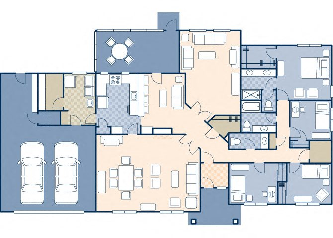 Northern Lights Estates 2830 Floor Plan 19