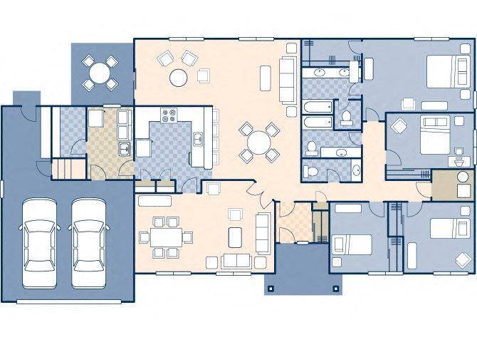 White Tail Range 2610 Floor Plan 32