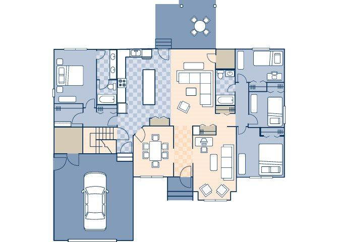 Circle Drive 1837 Floor Plan 1