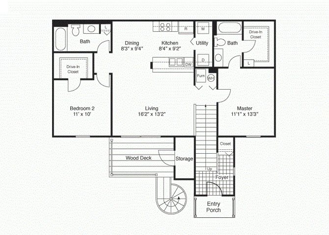 Pinnacle I Floor Plan 9